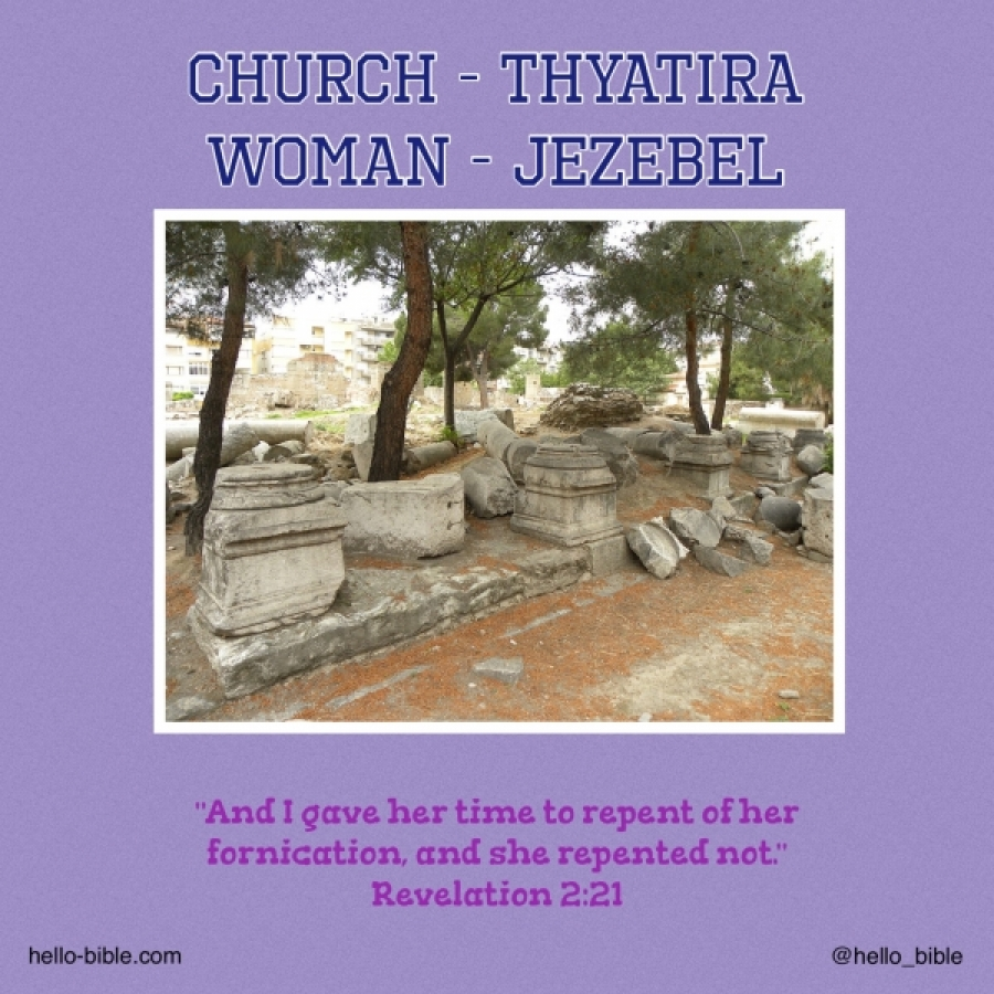 Revelation to the woman from God about the last times. Part 2